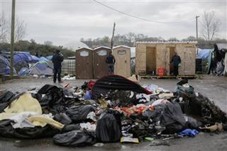 France Migrants Calais Camp Staying Alive