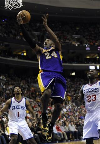 Kobe Bryant, Jason Richardson, Nick Young
