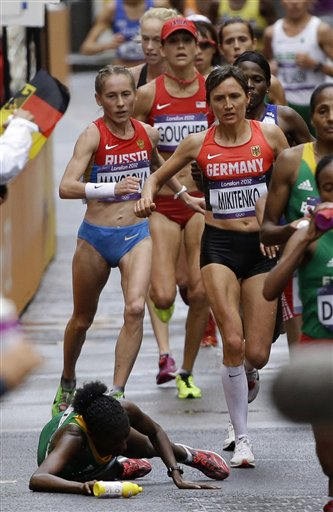 APTOPIX London Olympics Athletics Women Marathon