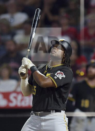 MLB: AUG 13 Pirates at Angels