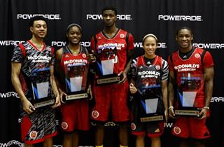 Nigel Williams -Goss, Kaela Davis, Chris Walker, Jessica Washington, and Demetrius Jackson 