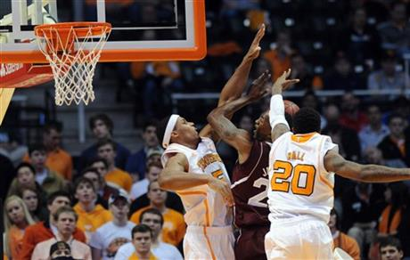 Tennessee Mississippi State Basketball