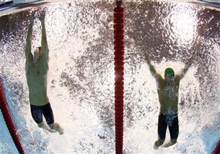 APTOPIX London Olympics Swimming Men