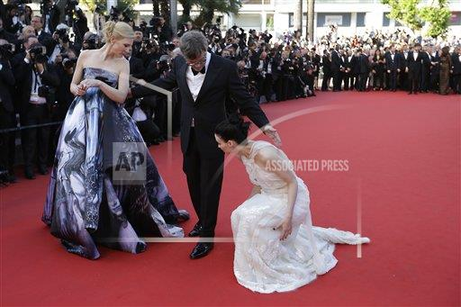 France Cannes Carol Red Carpet