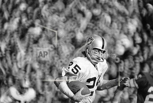 Associated Press Sports California United States NFL Football SUPER BOWL XI BILKETNIKOFF