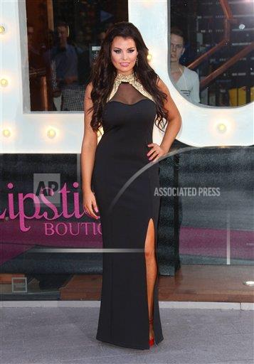 EXPNews AP I ENT  England EXPRE Jessica Wright launches With Love Jess Pop-up