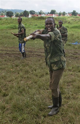 Congo Fighting M23 Rebels