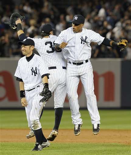 Ichiro Suzuki, Nick Swisher, Robinson Cano