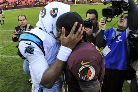 Cam Newton, Robert Griffin III