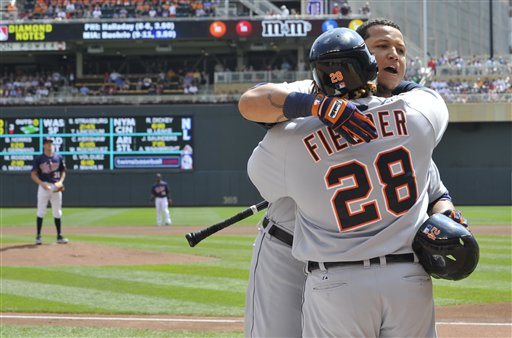 Miguel Cabrera, Prince Fielder, Cole DeVries 