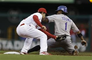 Pete Kozma, Eric Young Jr.