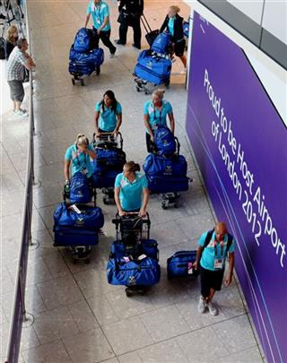 Olympics - London 2012 - Olympic Team Arrivals at Heathrow Airport