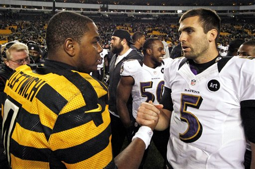 Byron Leftwich, Joe Flacco