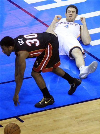 Norris Cole, Nick Collison