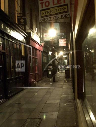 Associated Press International News United Kingdom England LONDON NEIGHBORHOOD
