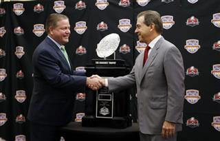 Nick Saban, Brian Kelly