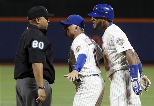 Terry Collins,  Jordany Valdespin,  Adrian Johnson
