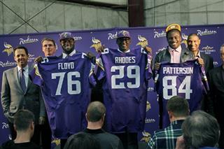 Sharrif Floyd, Xavier Rhodes, Cordarrelle Patterson