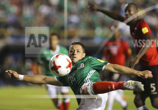 APTOPIX Mexico Trinidad and Tobago WCup Soccer