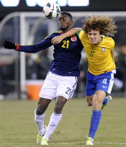 David Luiz, Jackson Martinez