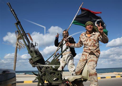 Mideast Libya Weapons Free for All