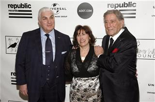 Mitch Winehouse, Janis Winehouse, Tony Bennett