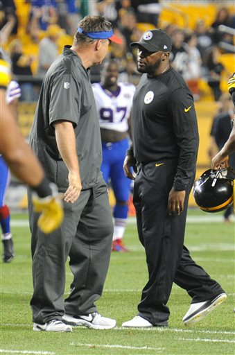 Mike Tomlin, Doug Marrone