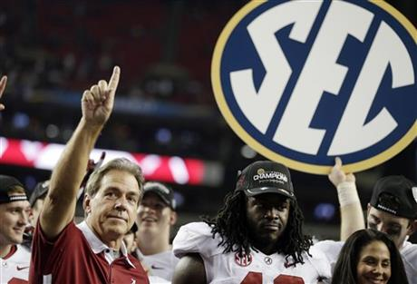 Nick Saban , Eddie Lacy