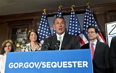 Cathy McMorris Rodgers, John Boehner, Eric Cantor, Lynn Jenkins