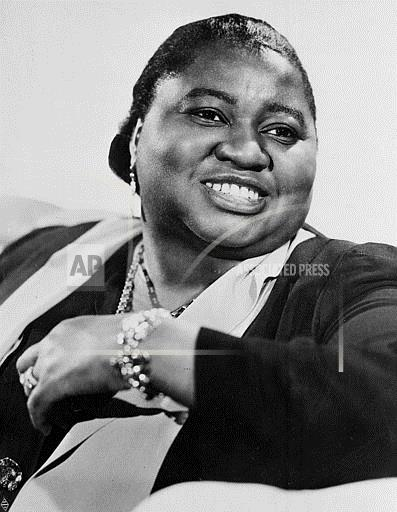 Associated Press Domestic News United States Entertainment HATTIE MCDANIEL