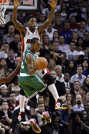 Rajon Rondo, Udonis Haslem
