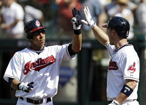 Michael Brantley, Jack Hannahan