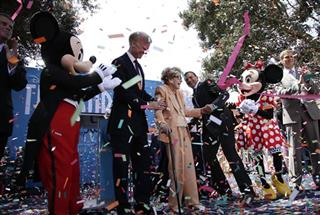 Nancy Reagan, Frederick J. Ryan, Robert Iger