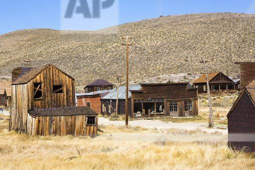 USA, California, Sierra Nevada, Bodie State Historic Park, gold mining town