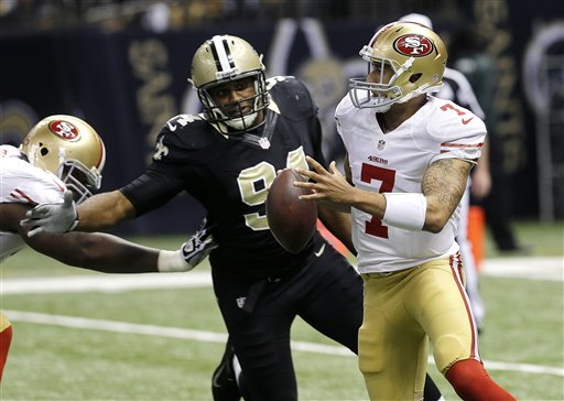 Colin Kaepernick,  Cameron Jordan
