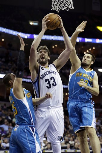 Marc Gasol, Ryan Anderson, Austin Rivers