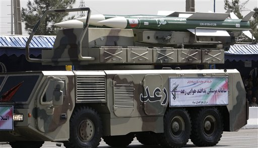 Mideast Iran Air Defense
