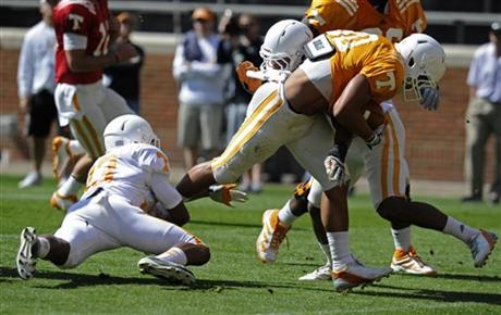 Tennessee Scrimmage Football