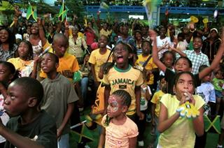 APTOPIX Jamaica Bolt or Blake