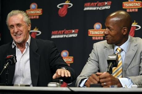Pat Riley, Ray Allen