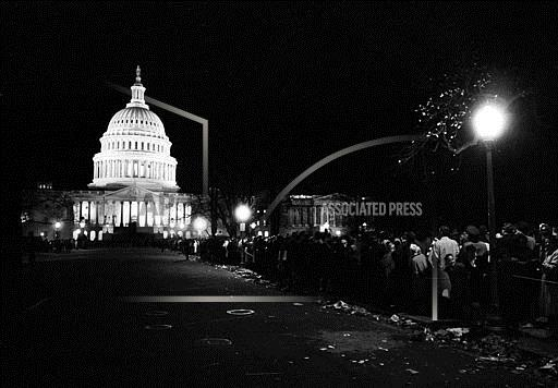 Associated Press Domestic News Dist. of Columbia United States LAST FAREWELL TO JOHN F. KENNEDY