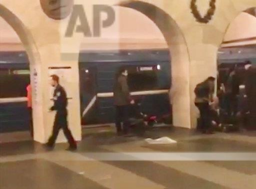 Russia Subway Explosion