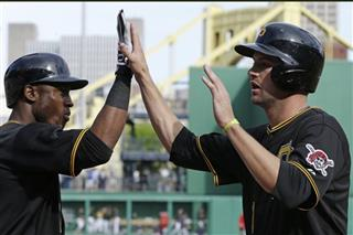 Starling Marte, Jordy Mercer
