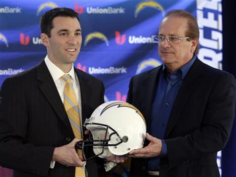 Tom Telesco, Dean Spanos