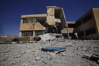 Mideast Syria Schools Out