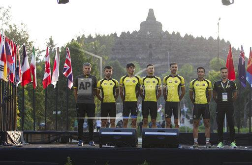 Tour d'Indonesia 2019 opening session in Magelang, Indonesia - 18 Aug 2019