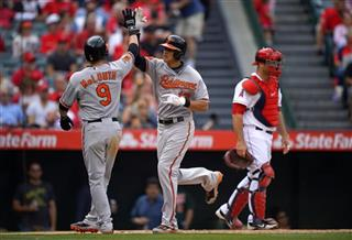 Manny Machado, Nate McLouth, Chris Iannetta