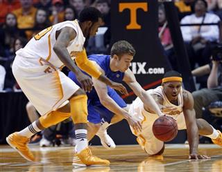 Jarnell Stokes, Jarrod Polson, Kenny Hall