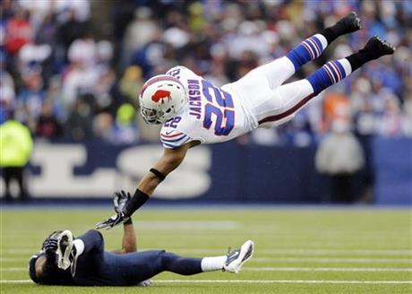 Fred Jackson, Quintin Mikell