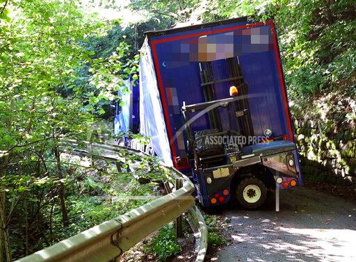 Stuck truck - third attempt to recover it